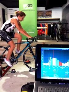 Análisis de rendimiento de la pedalada