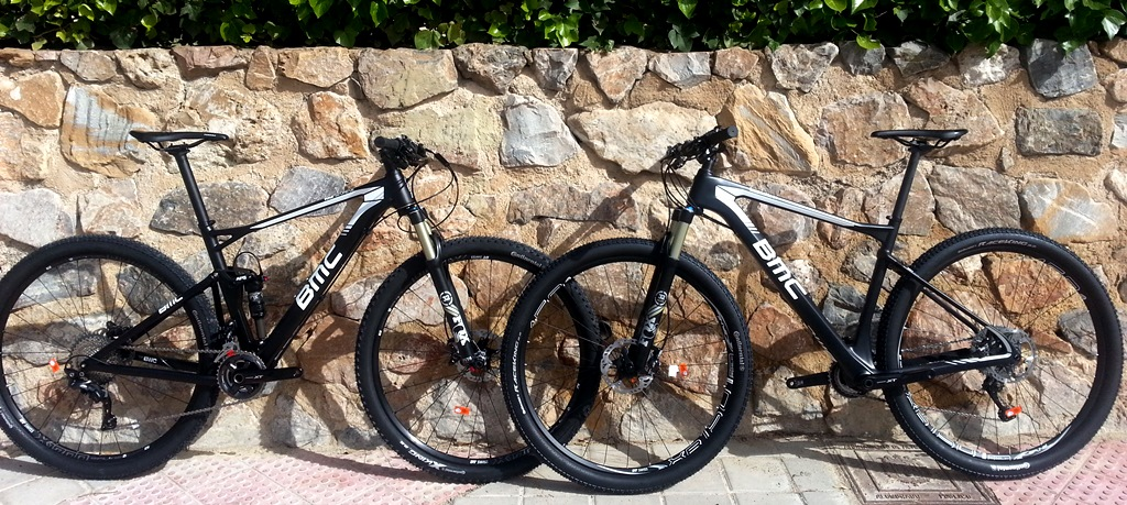 BMC FS02 XT vs BMC TE01 XT